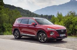 Hyundai Santa Fe, 2018, side