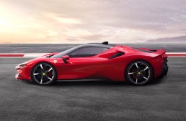 Ferrari SF90 Stradale, 2019, side