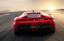 Ferrari SF90 Stradale, 2019, tail