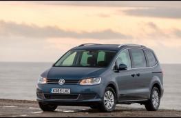 Volkswagen Sharan, front