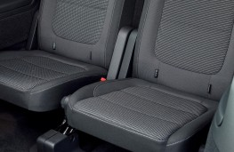 Volkswagen Sharan, rear seats