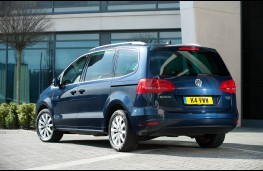 Volkswagen Sharan, rear
