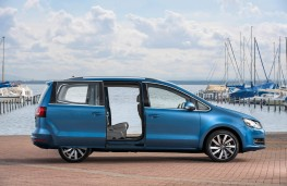Volkswagen Sharan, side