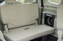 Mitsubishi Shogun, rear seats