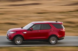 Land Rover Discovery, 2017, side