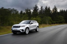 Range Rover Velar, 2017, side, action