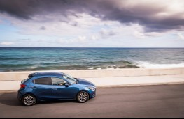 Mazda2, Epic Drive Azores, 2017, side, coast