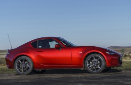Mazda MX-5 RF, 2017, roof retraction, closed