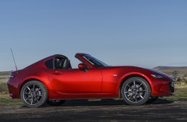 Mazda MX-5 RF, 2017, roof retraction, open
