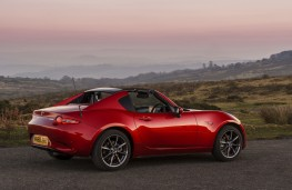 Mazda MX-5 RF, 2017, side, static