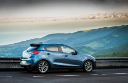 Mazda2, Epic Drive Azores, 2017, side, static