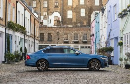 Volvo S90 Recharge T8, 2021, side