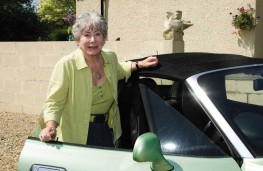 Valerie Singleton, GEM Motoring Assist older drivers campaign