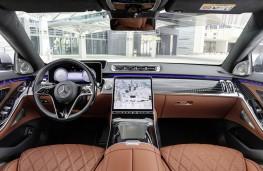 Mercedes-Benz S-Class, 2020, interior
