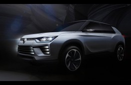 SsangYong SIV-2 Concept, front
