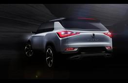 SsangYong SIV-2 Concept, rear