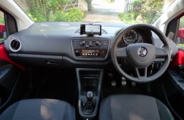 Skoda Citigo, dashboard