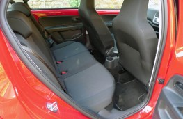 Skoda Citigo, rear seats