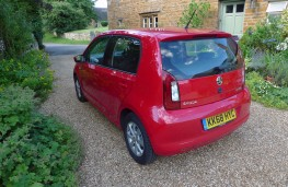 Skoda Citigo, rear static