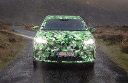 Skoda Enyaq head-on