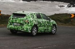Skoda Enyaq rear actiion