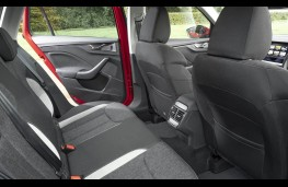 Skoda Kamiq, rear seats