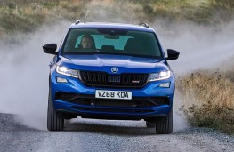 Skoda Kodiaq vRS off road