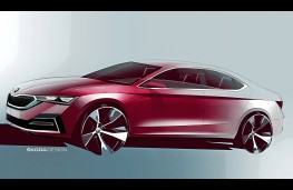 Skoda Octavia 2020 design sketch