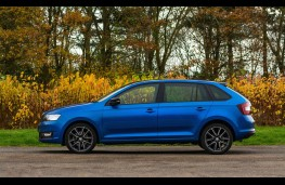Skoda Rapid Spaceback, side