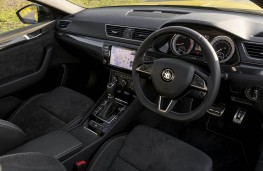 Skoda Superb, dashboard