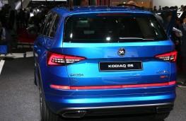 Skoda Kodiaq vRS rear