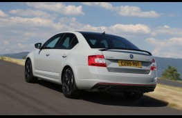 Skoda Octavia vRS 230, rear action
