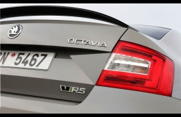 Skoda Octavia vRS 230, rear badge
