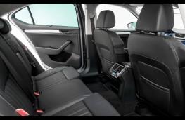 Skoda Superb, rear seats