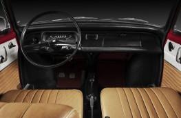 Skoda 1000 MBX, interior