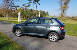 Skoda Fabia hatch, profile