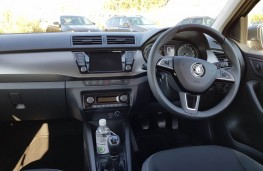 Skoda Fabia hatch, dashboard