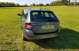 Skoda Fabia hatch, rear