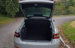 Skoda Superb Sportline 4x4, boot