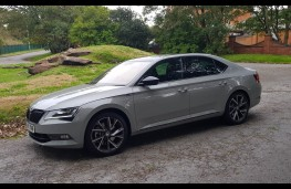 Skoda Superb Sportline 4x4, profile