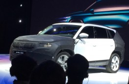 Skoda SUV prototype, 2016, front