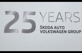 Skoda Volkswagen 25th anniversary