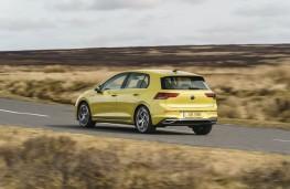 Volkswagen Golf, rear