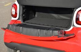 Smart ForTwo Cabrio, boot