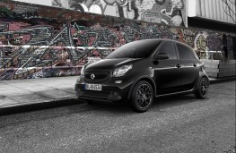 smart forfour, black edition