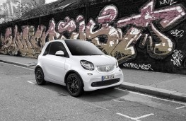 smart fortwo, white edition