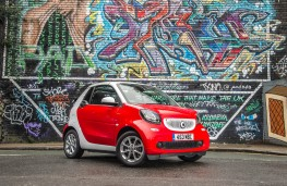 Smart ForTwo Cabrio, front