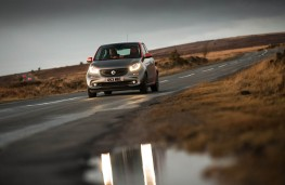 Smart ForFour, front