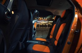 Smart ForFour, interior