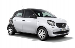 Smart forfour pure, 2017, front